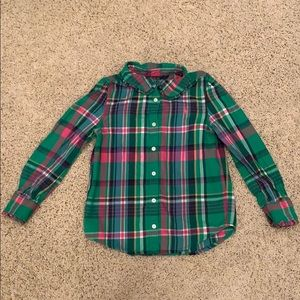 Like new polo button up